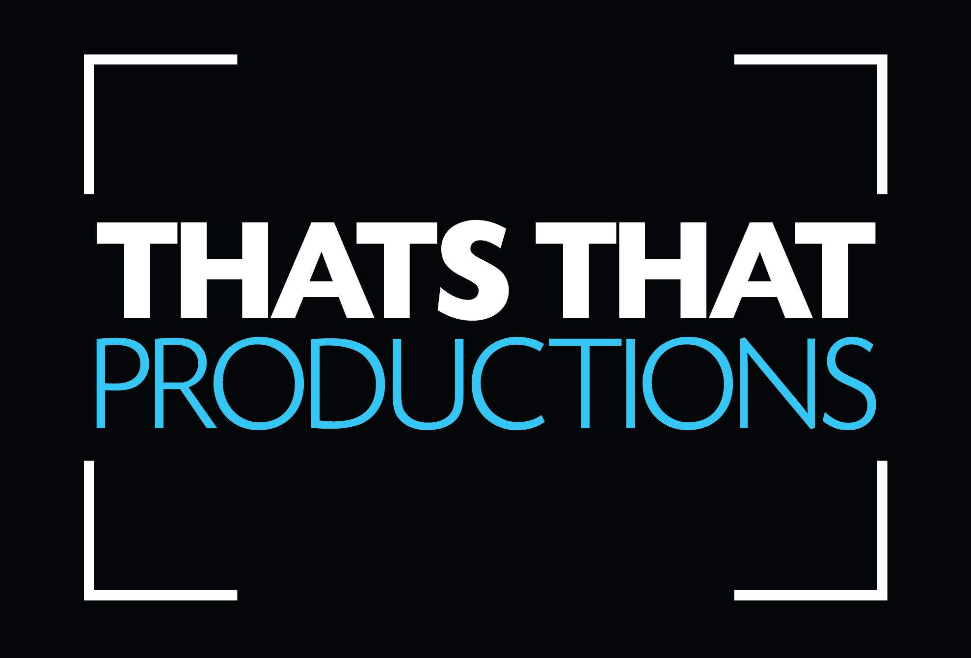 THATS THAT PRODUCTIONS LOGO
