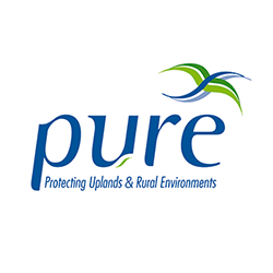 Pure Protecting Uplands and Rural Environments LOGO