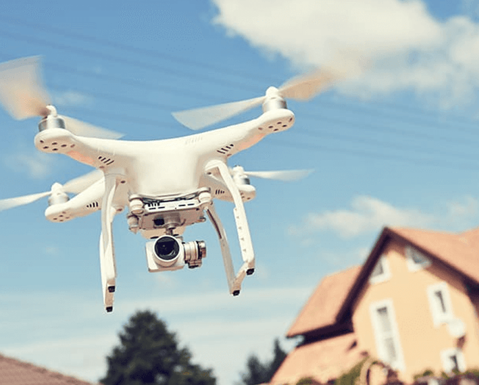 shooting aerial videos with a drone